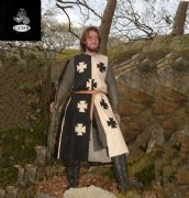 Black & White Crusader Surcoat